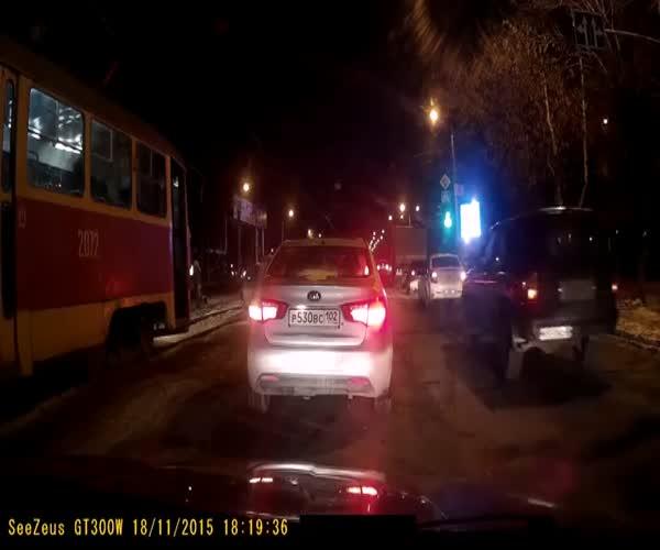 Дорожный конфликт со стрельбой в Уфе