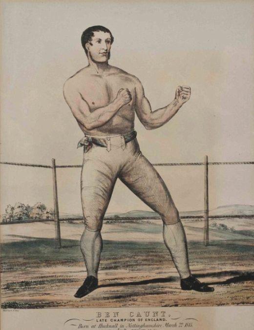 Кровавый бокс XIX века (5 фото)