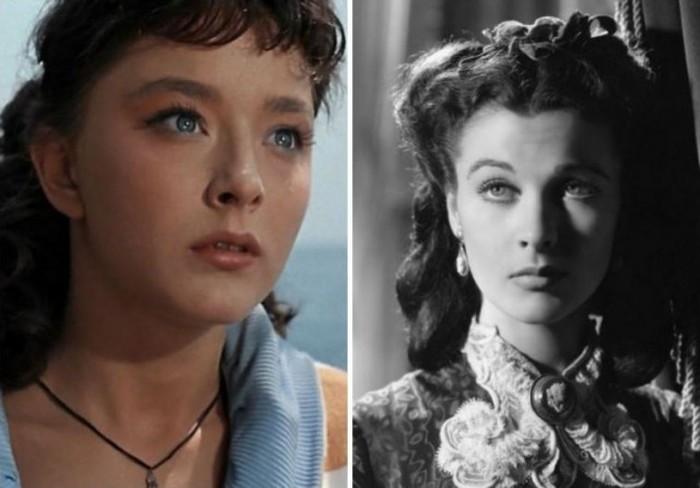 Голливудские двойники отечественных киноактрис (11 фото)