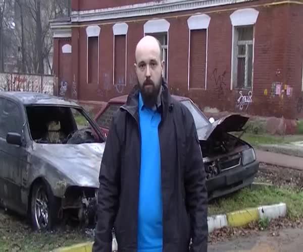 Новые подробности в деле о поджоге автомобиля