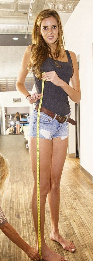 Рекорд самых длинных ног США может быть побит в ближайшее время (15 фото)
