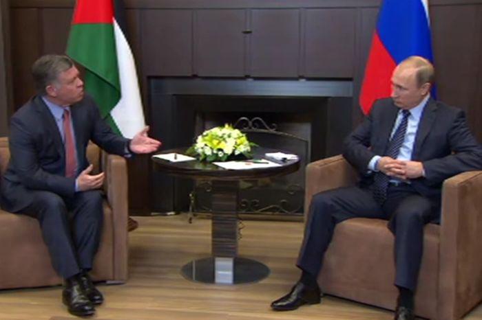 Владимир Путин встретился с королем Иордании Абдаллой II Бен Аль Хусейном