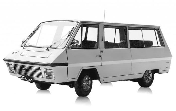 Малоизвестные модели и концепты Рижской автобусной фабрики (РАФ) (10 фото)
