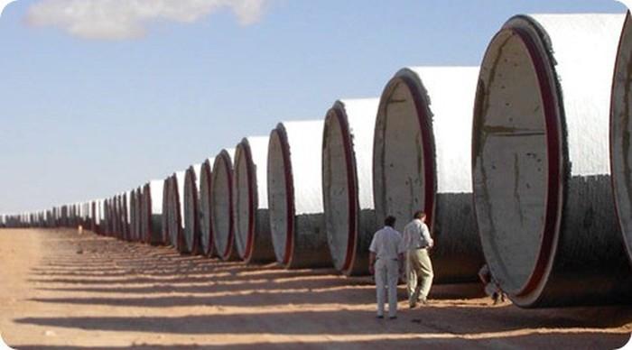 Великая рукотворная река Ливии (18 фото)