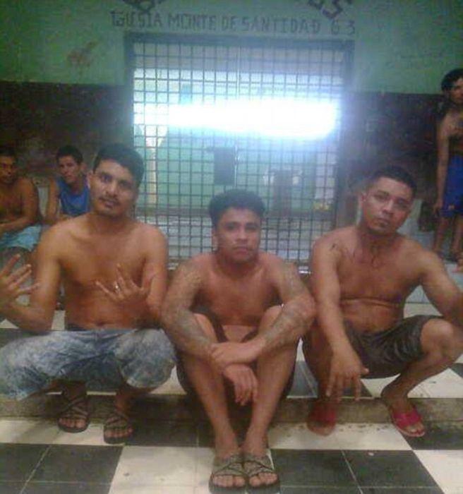 Жизнь обывателей тюрьмы La Modelo в Никарагуа на фото в соцсети (17 фото)