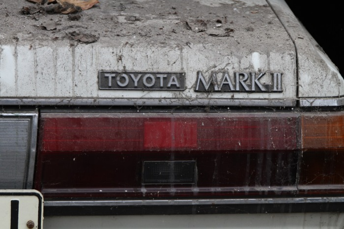 В Донецке автомобиль Toyota Mark II более 20 лет оставался замурованным (20 фото + видео)