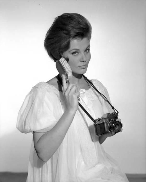 Странные фотографии моделей 60-х годов (21 фото)