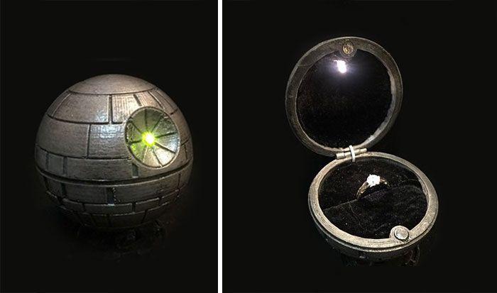 Необычные кольца геймеров и фанатов фантастических или фэнтези фильмов (30 фото)