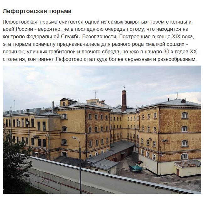 Самые известные тюрьмы России (16 фото)