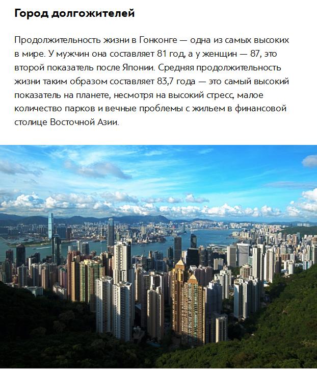 Любопытные факты о Гонконге (7 фото)