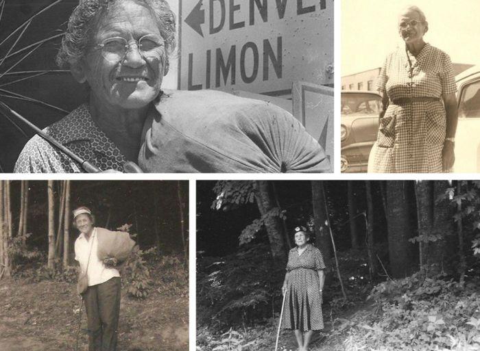 Эмма Гейтвуд - самая известная пешая туристка США (2 фото)