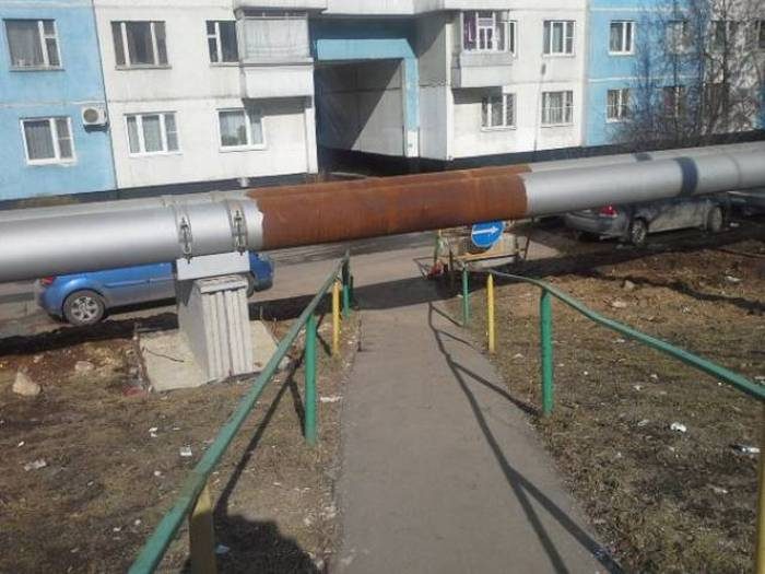 Фото, которые возможно было сделать только в России. Часть 15 (40 фото)