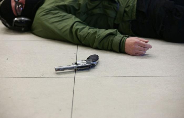 В Лондоне прошли масштабные антитеррористические учения (14 фото + видео)