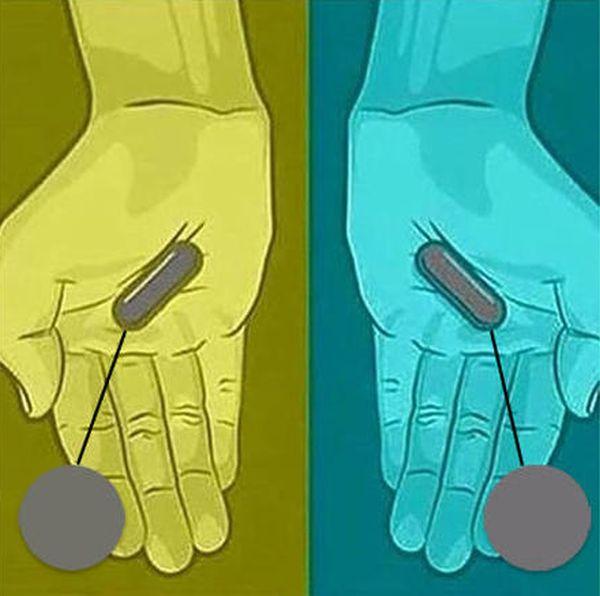 Какого цвета эти пилюли? (3 картинки)