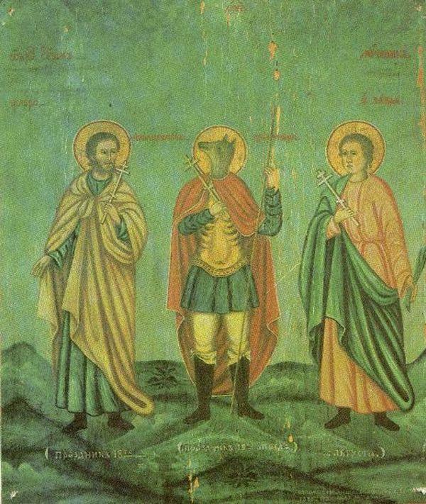 Мученик Христофор - самый необычный святой в христианстве (21 фото)
