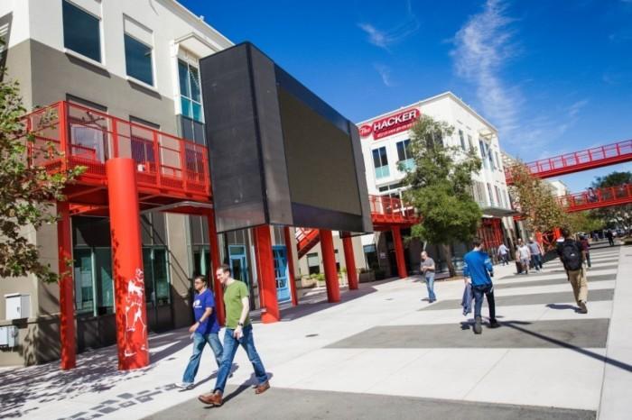Новая штаб-квартира Facebook (12 фото)