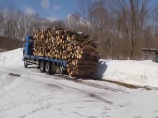 Находчивый водитель грузовика
