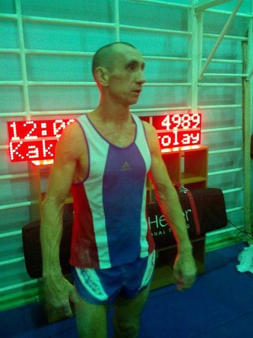 Россиянин Николай Каклимов подтянулся 4989 раз, установив новый рекорд мира (3 фото + видео)