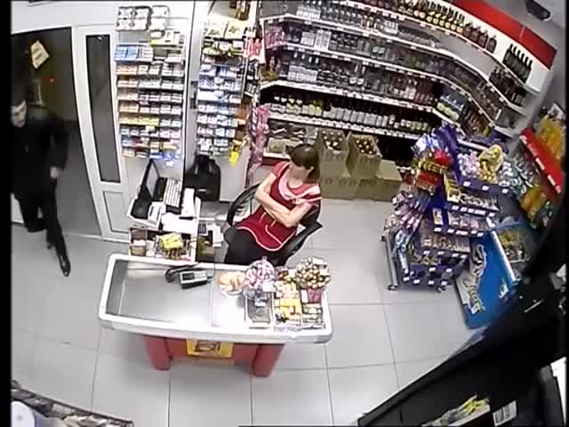 Ограбление продуктового магазина в Ханты-Мансийске