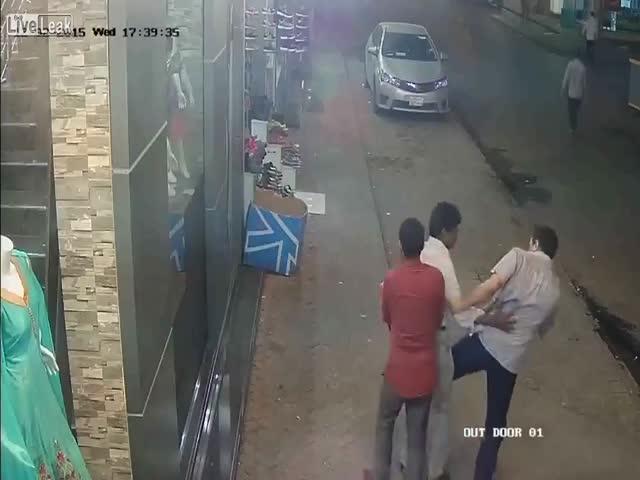 Воры-карманники в Бангладеш
