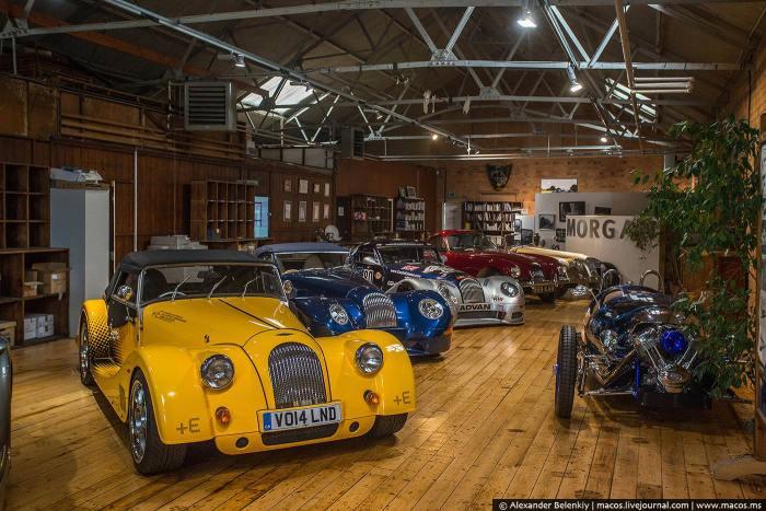 Как собираются спортивные автомобили марки Morgan (28 фото)