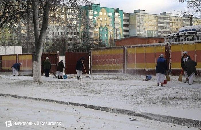 «Мучные осадки» в Солигорске (8 фото)