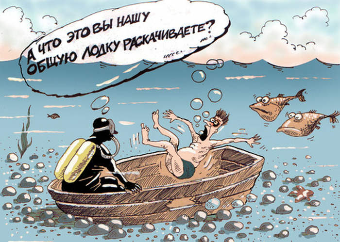 Забавные карикатуры художника Алексея Меринова (49 картинок)