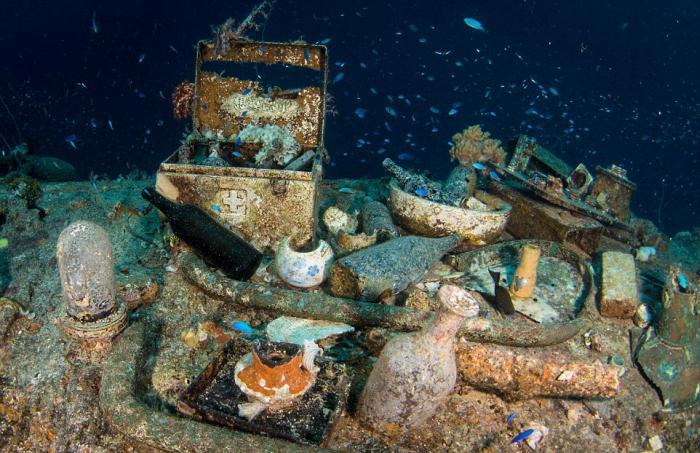Японская техника времен Второй мировой войны на дне океана (18 фото)