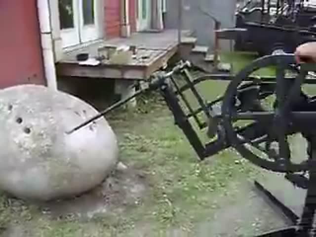 Старинный перфоратор