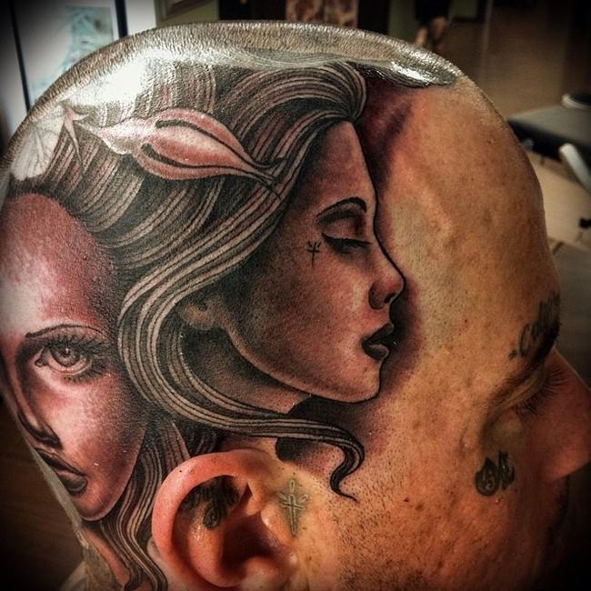 Великолепное искусство татуировки (25 фото)