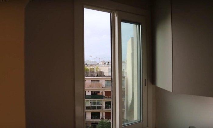 Как простой парижанин изменил вид из своего окна (11 фото)