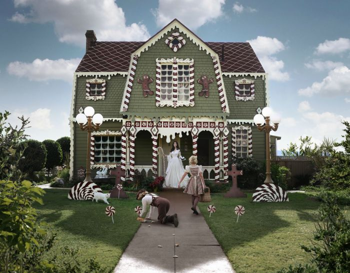 Декорирование дома к Рождеству (14 фото)