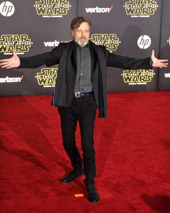 Преображение актера Марка Хэмилла, Люка Скайуокера из «Звездных войн» (4 фото)