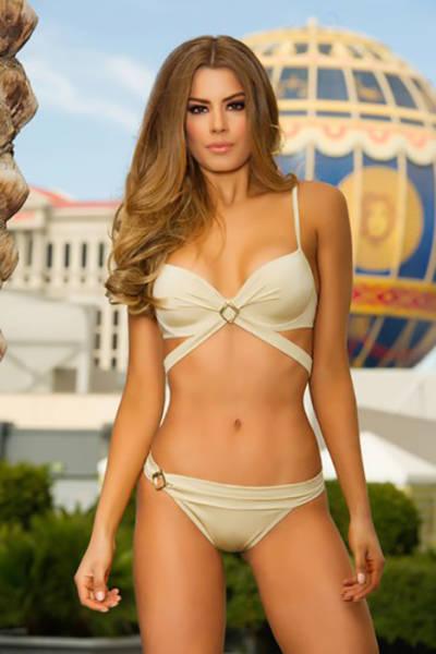 Участницы конкурса «Мисс Вселенная-2015» в бикини (80 фото)