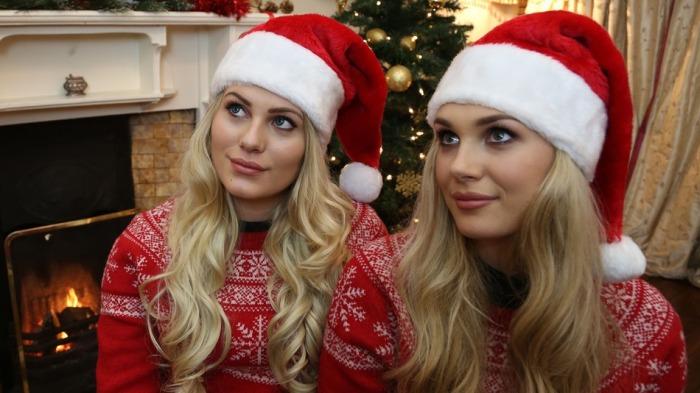 Девушки-двойники случайно нашли друг друга в интернете (4 фото)