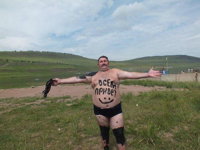Фото, которые возможно было сделать только в России. Часть 16 (49 фото)