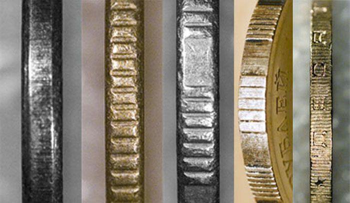Почему монеты ребристые? (2 фото)