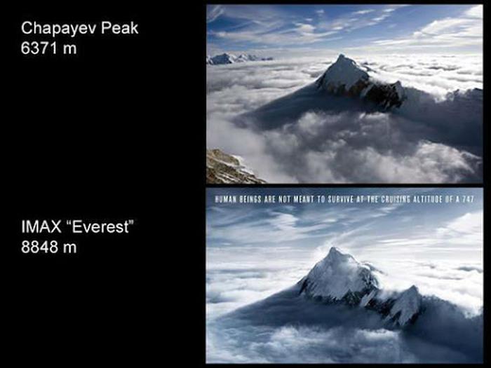 На афише голливудского фильма «Эверест» оказалось фото пика Чапаева, сделанное священнослужителем из Алматы (8 фото)