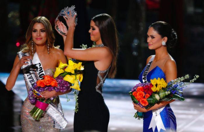 Скандал на «Мисс Вселенная-2015»: корона победительницы досталась другой девушке (15 фото + видео)