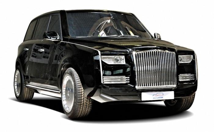Рассекречен новый президентский лимузин отечественного производства «Кортеж» (16 фото)