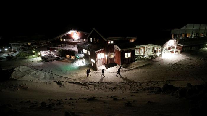 Жизнь сирийских беженцев в Лапландии (18 фото)