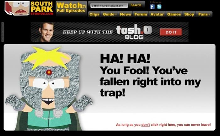 """Забавные """"404"""" страницы по мнению lg-town.com (7 фото)"""