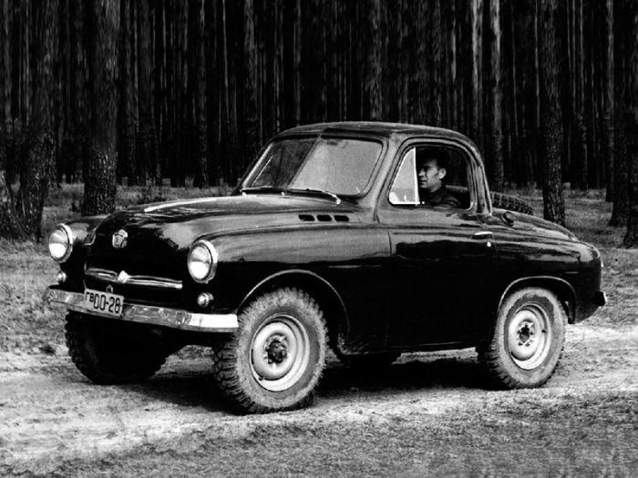 ГАЗ М-73 «Украинец» - неизвестный советский внедорожник (5 фото)