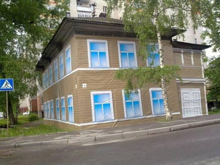 Фото, которые возможно было сделать только в России. Часть 17 (40 фото)