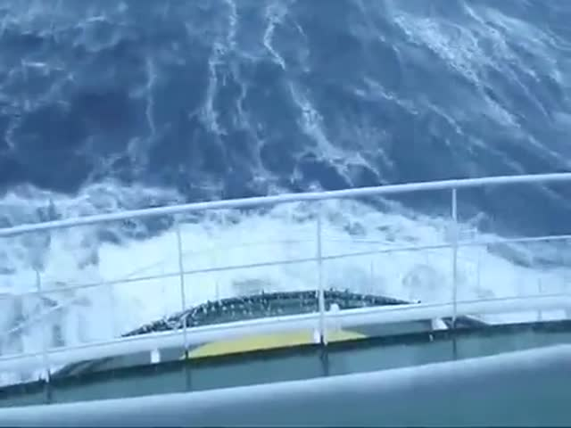 Шторм глазами моряка