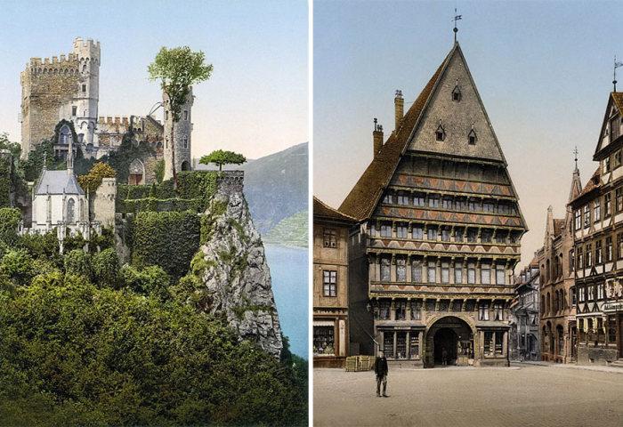 Цветные фотографии Германии 1900 года (9 фото)