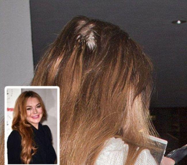 Звездные конфузы с накладными волосами (5 фото)