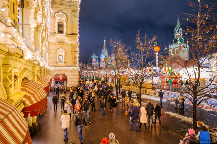 Праздничная Москва (44 фото)