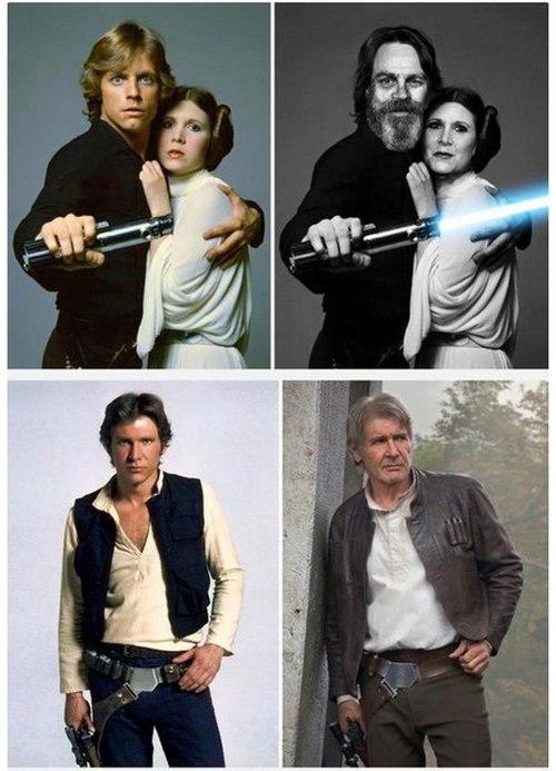 Актеры фантастической саги «Звездные войны» тогда и сейчас (8 фото)