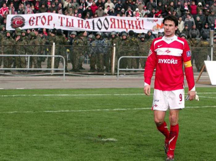 Редкие фотографии футбольного клуба «Спартак» (25 фото)